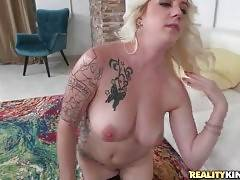 Breasted Slutie Chanel Strips For You 3