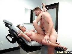 Turned on Levi Cash deeply penetrates awesome beautician.