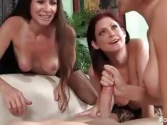 Naughty Milfs And Tough Guy 1