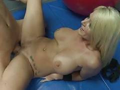 Sophie Dee gets her cooter fucked once more in this steamy mature scene. She lifts her leg and takes in her boyfriends hard cock in her shaved pussy. Sophie gropes her big tits and moans in pleasure while getting her snatch fucked from behind.