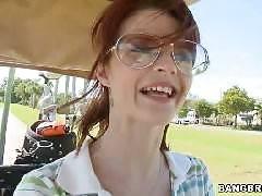 Golfing Tiger-Style. Joslyn James