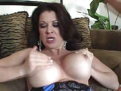 Big titty MILF Raquel Devine takes on a huge challege of boning this younger guy. Youll be watching this beautiful, experienced and very horny chick show off her big tits while grinding her pussy on our meat puppets raging shaft.