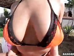 Fantastic Blonde Shows All Her Charms 1