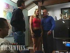 UNFAITHFUL HOUSEWIVES. Vicky Vette with Rick Masters and Dick Nasty