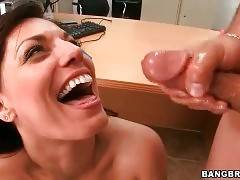 Nasty Pretty Milf Fucks And Tastes Cum 3