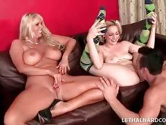 Lady And Her Daughter Share Thick Cock 3
