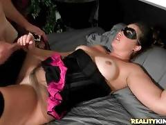 Turned On Guy Drills Slutty Curvaceous Milf 1