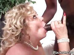 Curvaceous Old Tart Gets Poked By Black Guy 3