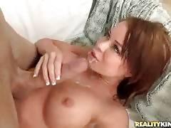 Chris Strokes Feeds Nikki Delano With Fresh Cum 2