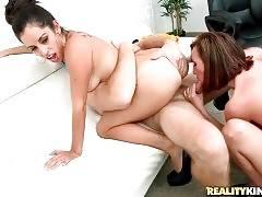 Two Slutty Ladies Take Turns Getting Fucked 2