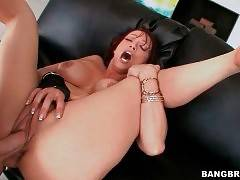 Dude Assfucks Nicki Hunter And Feeds Her With Cum 1