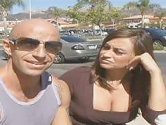 Claudia Valentine has a healthy sexual appetite and she shows it in this scene. Claudia and her boyfriend engage in another session of intense fucking. Claudia goes down on all fours and welcomes his big wang deep inside her shaved pussy and moans lo